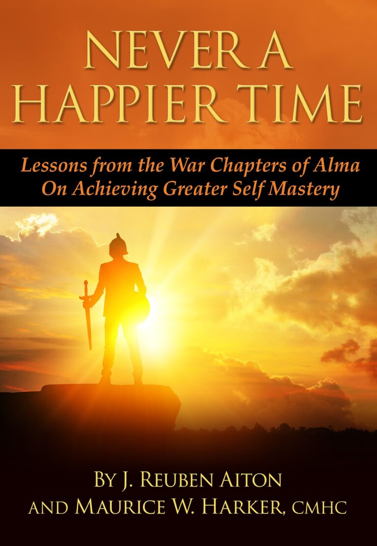 never a happier time book cover